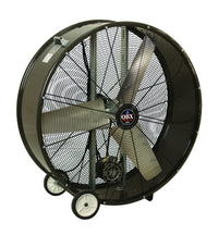 QBX Portable Blower Fan 2 Speed 36 inch 11000 CFM Belt Drive QBX-3623, [product-type] - Industrial Fans Direct