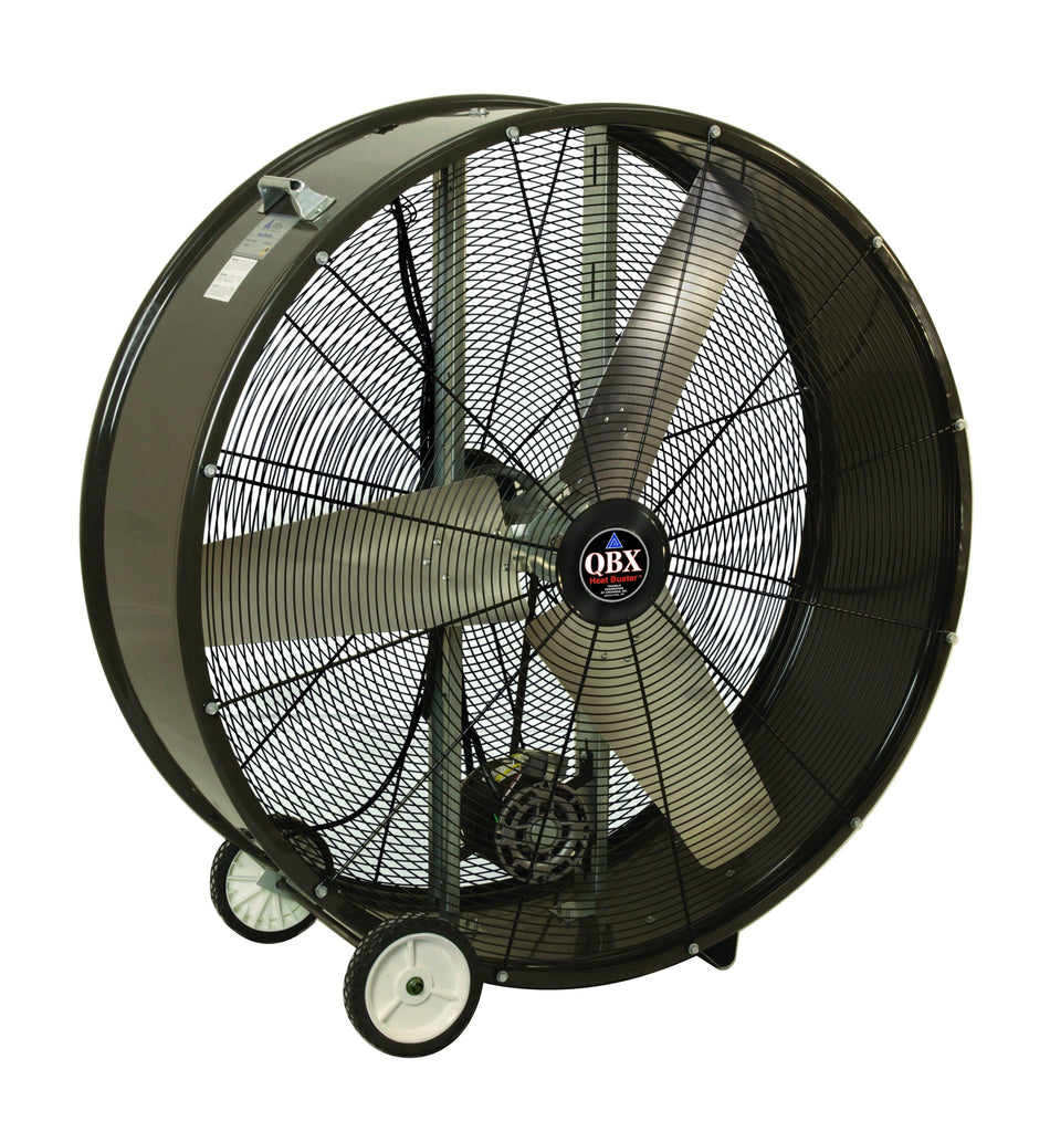42 Inch Portable Fan : Qbx heat buster portable drum fan speed inch