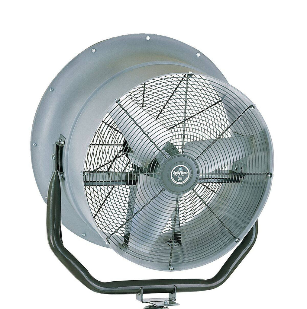 High Velocity Oscillating Fan 24 inch 5600 CFM 3 Phase Outdoor Rated HV2413-OC-460, [product-type] - Industrial Fans Direct