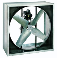 VI Cabinet Exhaust Fan 24 inch 4100 CFM Belt Drive 3 Phase VI2412-X