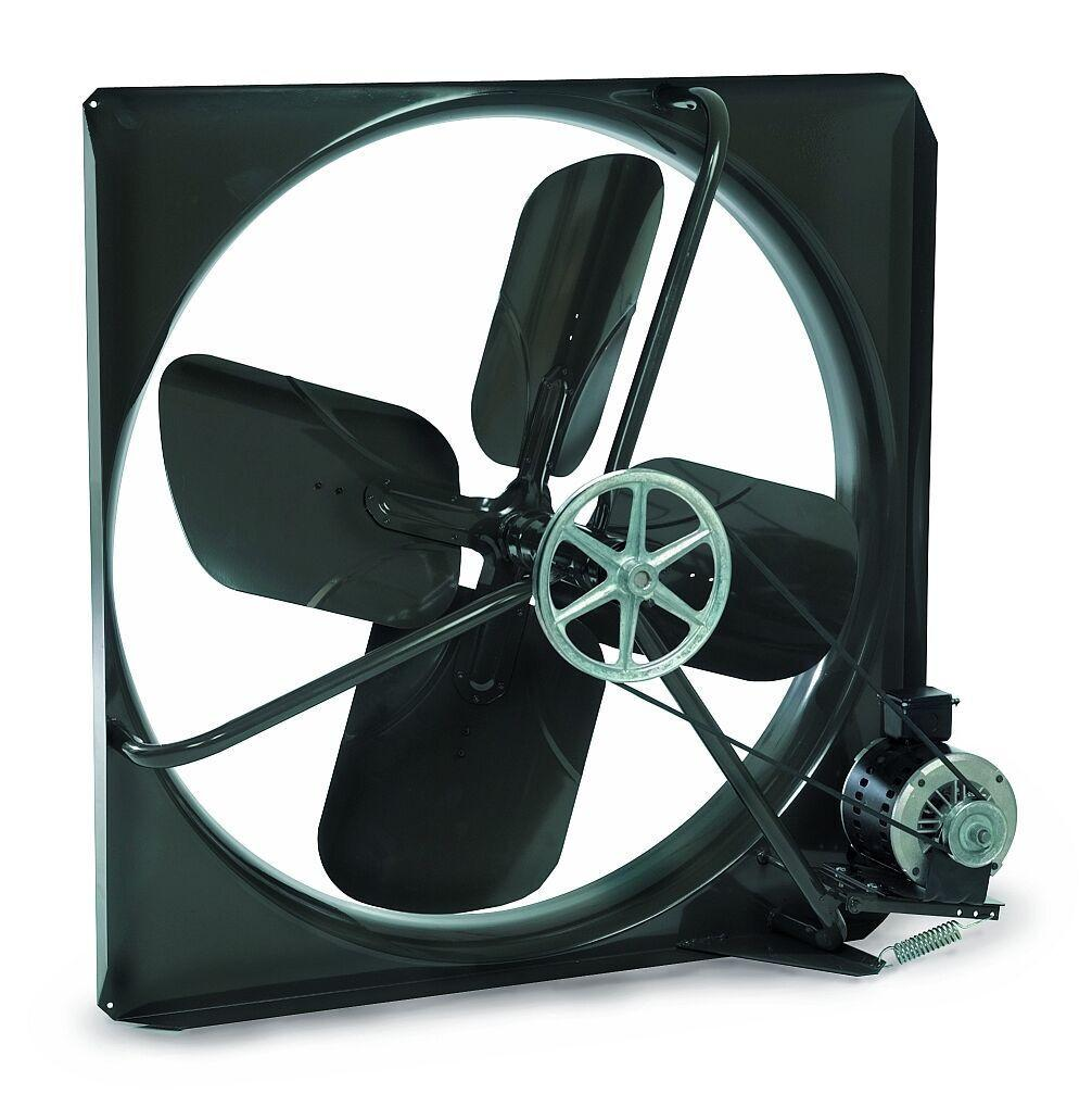 36 Inch Direct Drive Fans : V panel exhaust fan speed inch cfm belt drive