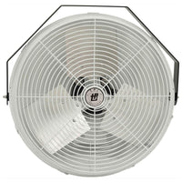 TPI Corrosion Resistant Industrial Workstation Wall Fan 3 Speed 24 inch 2100 CFM U-24-CR