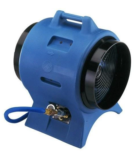 Americ Intrinsically Safe Pneumatic Confined Space Fan 12 inch 2063 CFM VAF3000P
