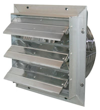VES Shutter Exhaust Fan 12 inch 970 CFM VES12C, [product-type] - Industrial Fans Direct