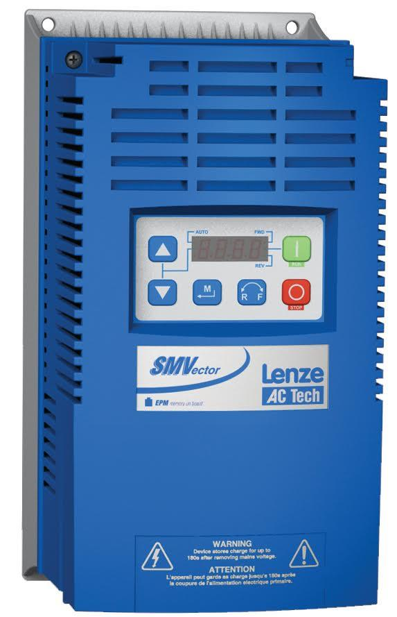 SM Vector Lenze Variable Frequency Drive 10 HP 3 Phase Input / Output 240V