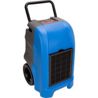 B-Air Blue Vantage Compact Portable Commercial Dehumidifier 150-Pint 325 CFM VG-1500-BLUE
