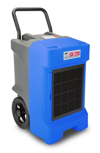 B-Air Blue Vantage Large Portable Commercial Dehumidifier 225-Pint 400 CFM VG-LGR-2200-BLUE, [product-type] - Industrial Fans Direct