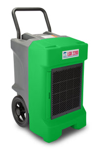 B-Air Green Vantage Large Portable Commercial Dehumidifier 225-Pint 400 CFM VG-LGR-2200-GREEN, [product-type] - Industrial Fans Direct