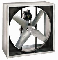 VI Cabinet Exhaust Fan Totally Enclosed 48 inch 21500 CFM 3 Phase Belt Drive VI4816T-X