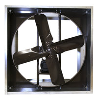VI Explosion Proof Exhaust Fan 48 inch 21100 CFM Belt Drive 3 Phase VI4817HL-X