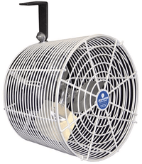 Versa-Kool Galvanized Circulator Fan w/ Cord & Mount 12 inch Variable Speed 1470 CFM VK12-GA