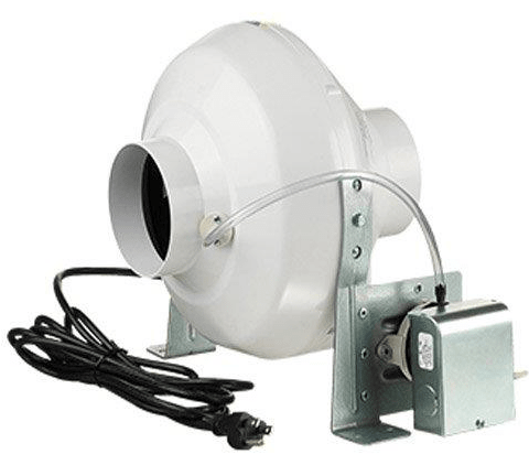 VK Duct Inline Dryer Booster Fan 4 inch 162 CFM VKPS100