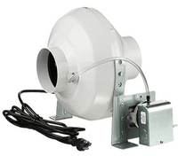 VK Dryer Vent Booster Fan 4 inch 162 CFM VK 100 PS