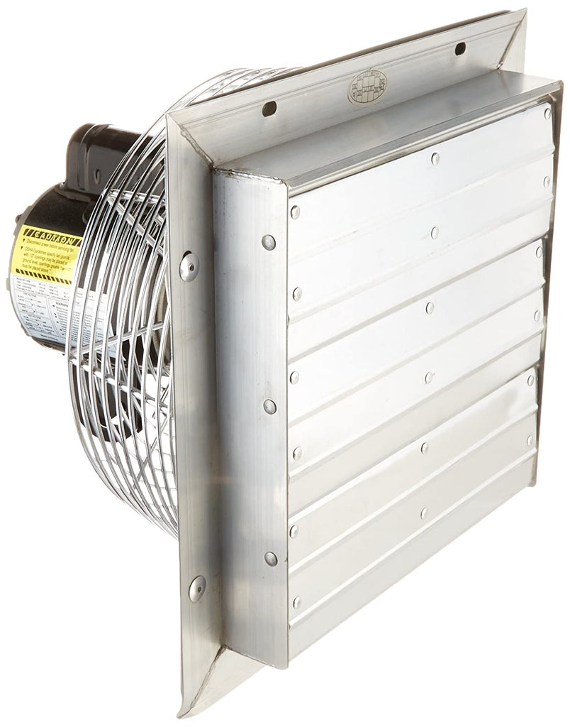 VPES Outdoor Rated Shutter Exhaust Fan w/ Cord 16 inch 2950 CFM 3 Speed VPES16