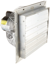 VPES Outdoor Rated Shutter Exhaust Fan w/ Cord 20 inch 4220 CFM 3 Speed VPES20