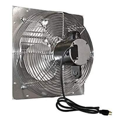 Vpes Outdoor Rated Shutter Exhaust Fan W Cord 12 Inch 3
