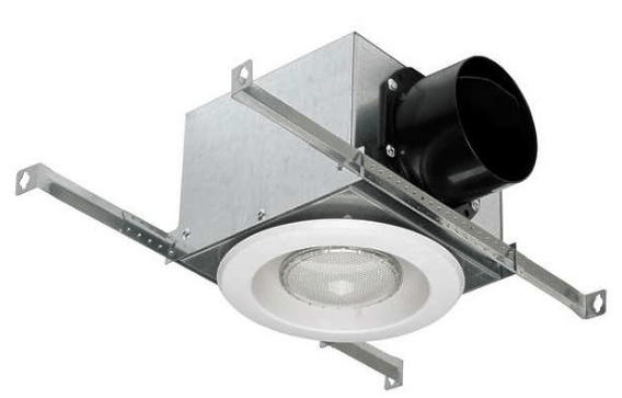 Vent Light 4 inch Duct with Flourescent Bulb