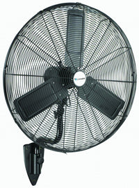 Commercial Oscillating Wall Fan 3 Speed 24 inch 4900 CFM WMKD24-OSC, [product-type] - Industrial Fans Direct