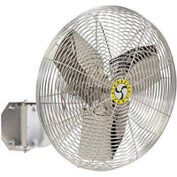 Airmaster Washdown Duty Wall Circulator Fan 20 Inch 2670 CFM Stainless Steel 70833