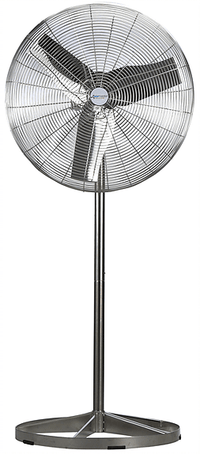 Airmaster Washdown Duty Pedestal Circulator Fan 24 Inch 5220 CFM Stainless Steel 70836