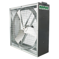 Whirl-Wind Galvanized Box Fan 50 inch 17400 CFM 3 Phase Direct Drive VG50DM3B