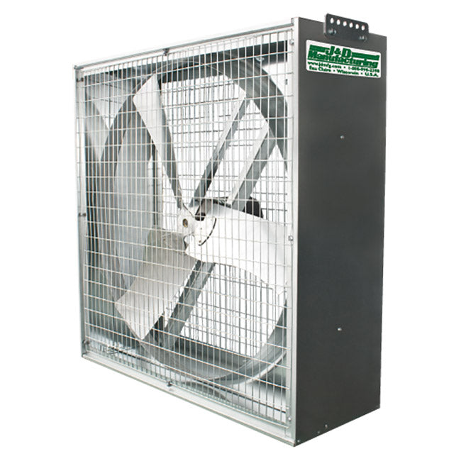 Whirl-Wind Galvanized Box Fan 36 inch 9800 CFM Belt Drive VG36VF36GBM