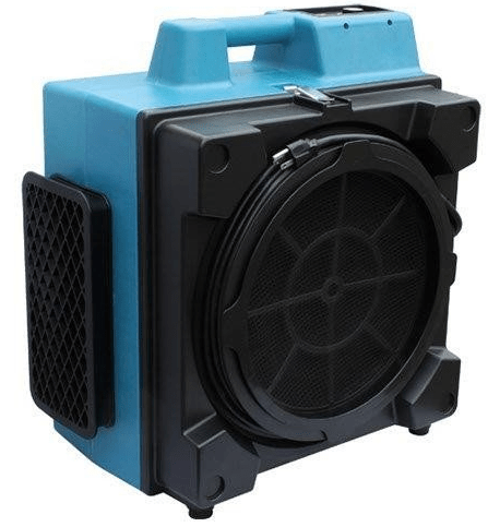 Professional 3 Stage Hepa Air Scrubber 600 Cfm X 3400a