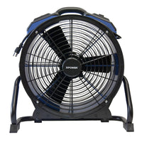 XPower 18 Inch Professional High Temp Axial Fan Variable Speed 3600 CFM X-48ATR