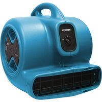 XPower Air Mover w/ Daisy Chain 3 Speed 2400 CFM X-600A-Blue, [product-type] - Industrial Fans Direct