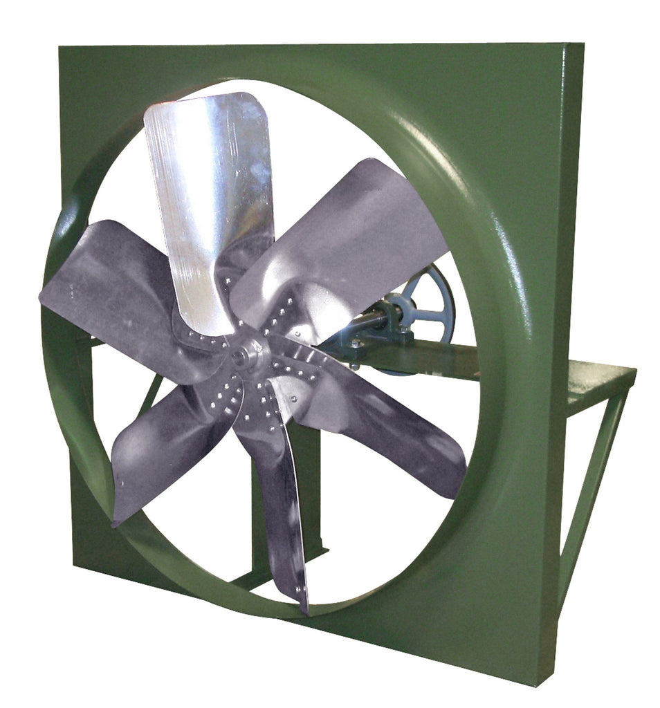 XB Panel Exhaust Fan 48 inch 18658 CFM Belt Drive 3 Phase XB48T30100M, [product-type] - Industrial Fans Direct