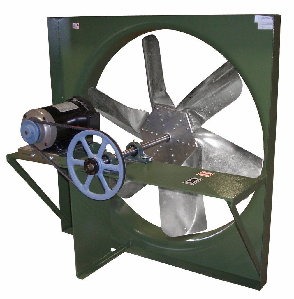 36 Inch Direct Drive Fans : Xb panel exhaust fan inch cfm belt drive phase
