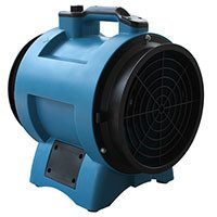 Confined Space Ventilator 8 inch 1000 CFM X-8, [product-type] - Industrial Fans Direct