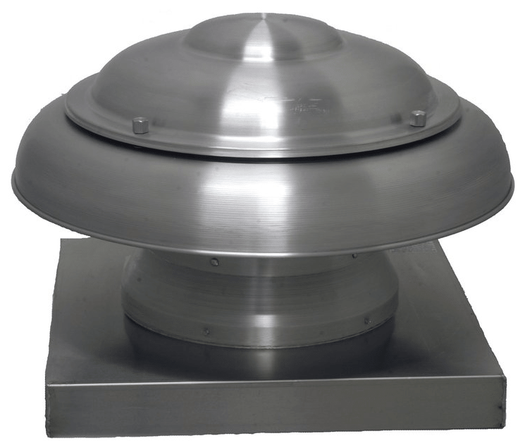 ARE Dome Roof Exhaust 16 inch 2040 CFM 208 / 230 Volt ARE16MM1CS