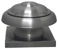 ARE Dome Roof Exhaust 12 inch 1804 CFM 208 / 230 Volt ARE12MH1CS