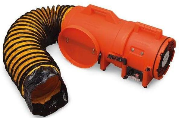Confined Space Ventilator Blower 8 Inch W 25 Duct 831