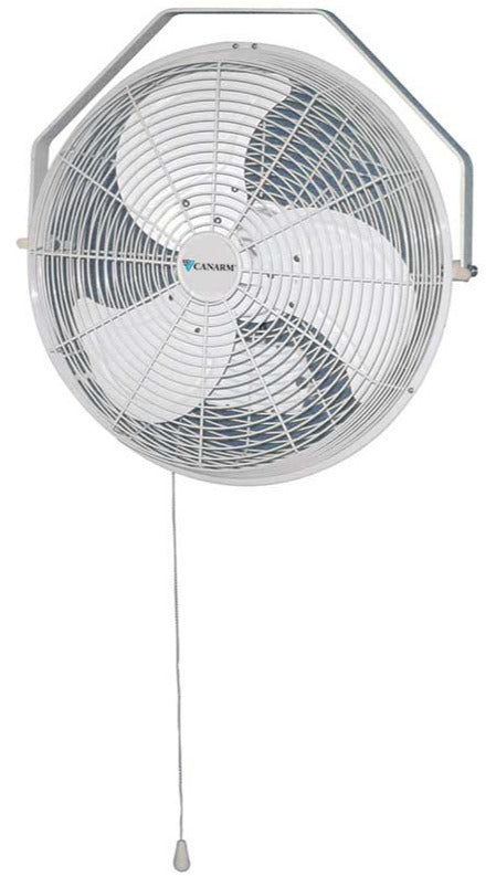 High Velocity Ceiling Or Wall Outdoor Rated Fan W Pull Chain 18 Inch Industrial Fans Direct