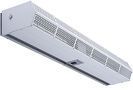 Berner (HEATED) Low Profile Air Curtain 120 inch 3263 CFM 3 Phase CLC08-2120E