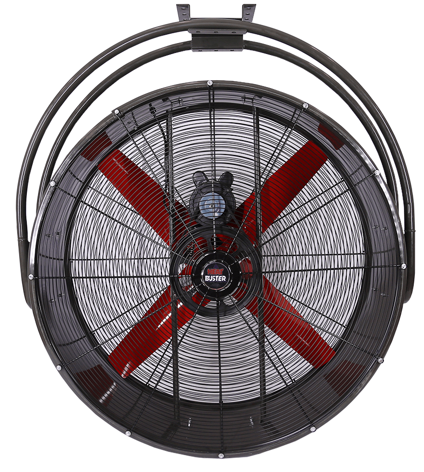 Drum Type Ceiling Mount Circulating Fan 48 inch 19460 CFM Belt Drive CMB4815, [product-type] - Industrial Fans Direct