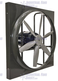AirFlo-900 Panel Mount Supply Fan 24 inch 10500 CFM Direct Drive 3 Phase N924-H-3-TS