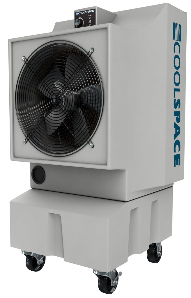 Cool-Space Glacier Outdoor Rated Evaporative Cooler 2800 CFM Variable Speed CS5-18-VD
