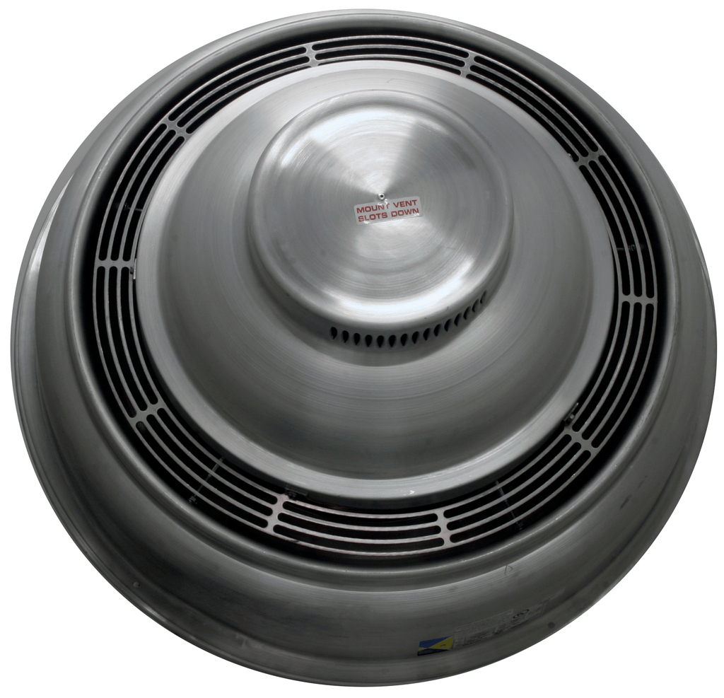 Dome Explosion Proof Sidewall Exhaust Fan 10 inch 1453 CFM CWD100A