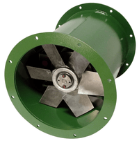 DDA Tube Axial Fan 30 inch 18200 CFM Direct Drive 3 Phase DDA30T30500BM