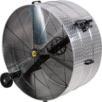 J & D Manufacturing 42 inch Diamond Brite Portable Drum Fan 2 Speed Belt Drive VI4234WB2