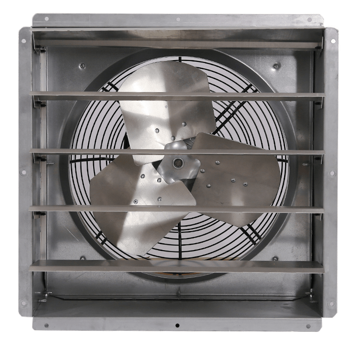 Industrial Exhaust Fans For Fumes : Triangle engineering gpx quot shutter exhaust fan