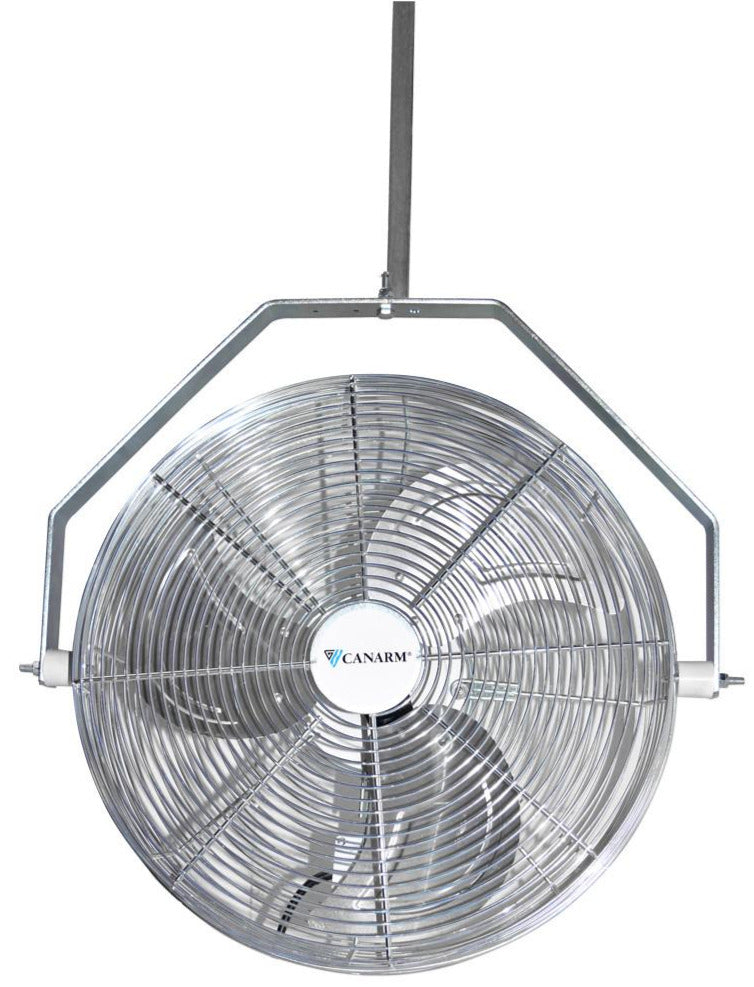 Horizontal Air Flow Outdoor Rated Fan w/ Hanging Bracket 18 inch 2350 CFM Variable Speed HAF18-ZO