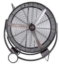 HBPC Portable Cooler Tilt Barrel Fan 1 Speed 48 inch 19100 CFM Direct Drive HBPC4815