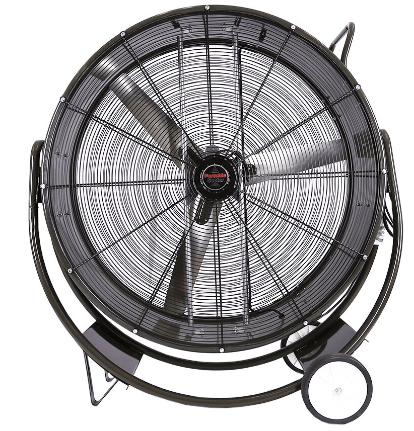42 Inch Portable Fan : Hbpc portable cooler tilt barrel fan speed inch