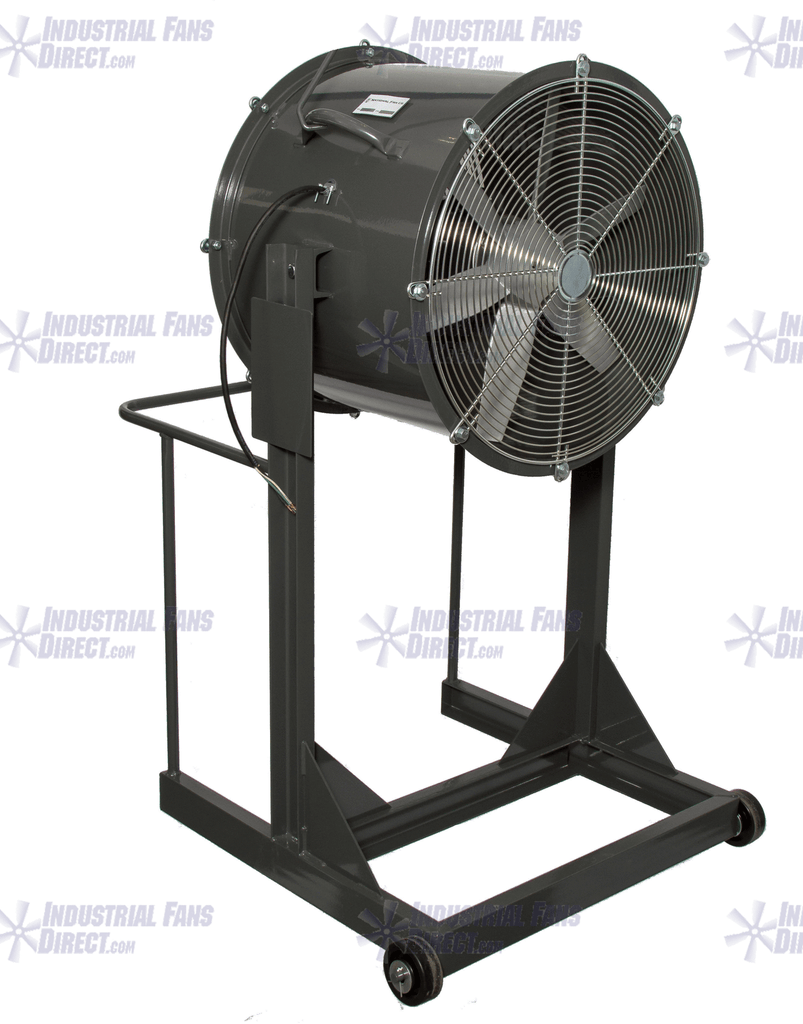 Explosion Proof Man Cooling Fan High Stand 36 inch 18500 CFM 3 Phase NM36H-H-3-E, [product-type] - Industrial Fans Direct