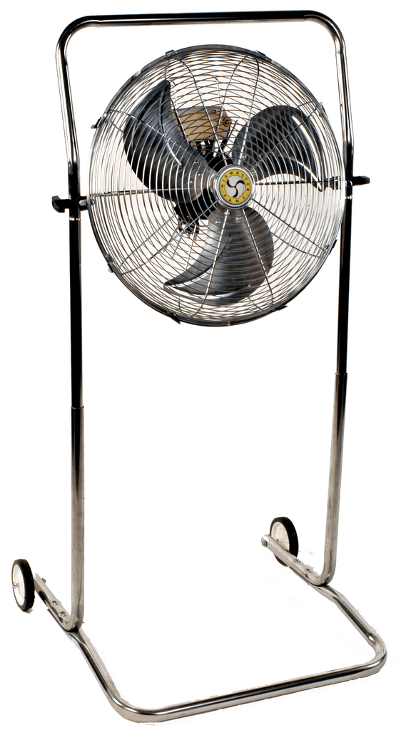 Airmaster High Stand Pivoting Air Circulator Fan 18 inch 2966 CFM 3 Speed 78969