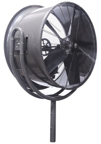 Triangle Jetaire Pole Mount High Velocity Fan 54 inch 27900 CFM 1 Phase HV5418-W